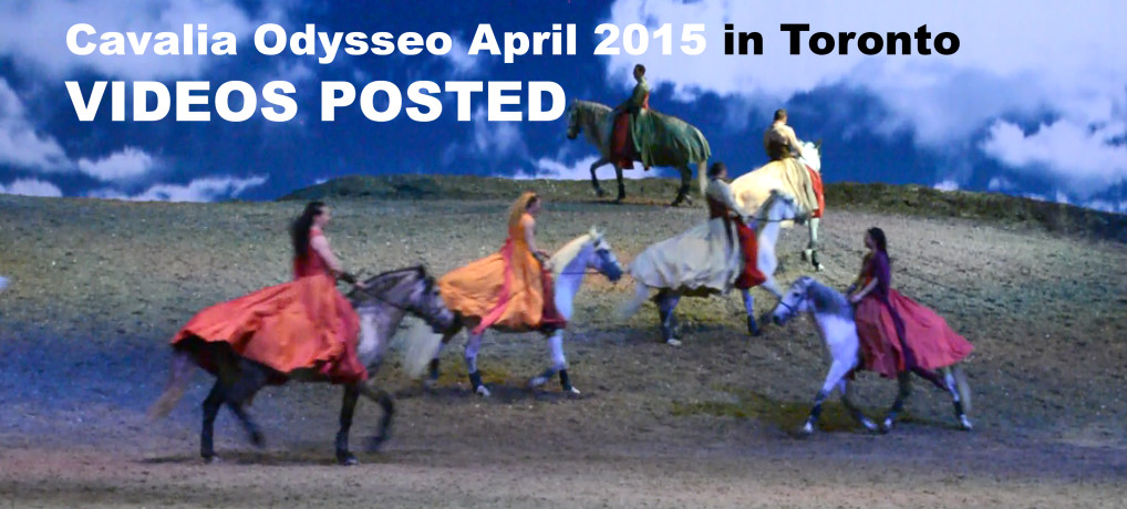 Cavalia Odysseo April 2015 in Toronto