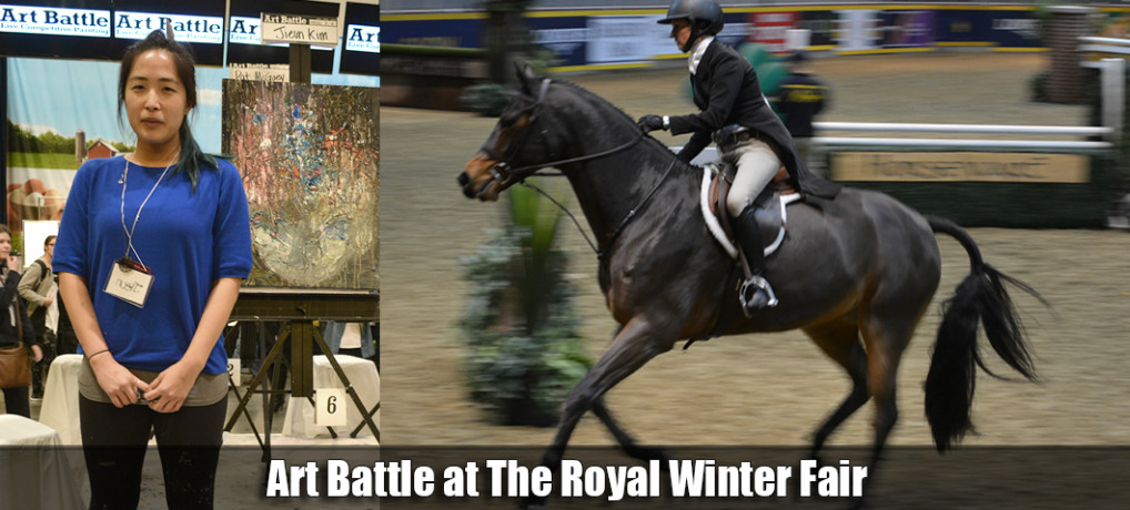 Art Battle at The Royal Winter Fair