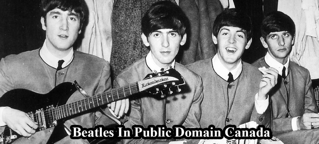 Beatles In Public Domain Canada