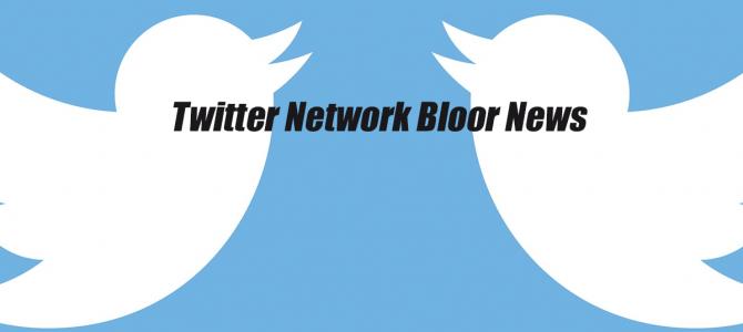 Twitter Network Bloor News