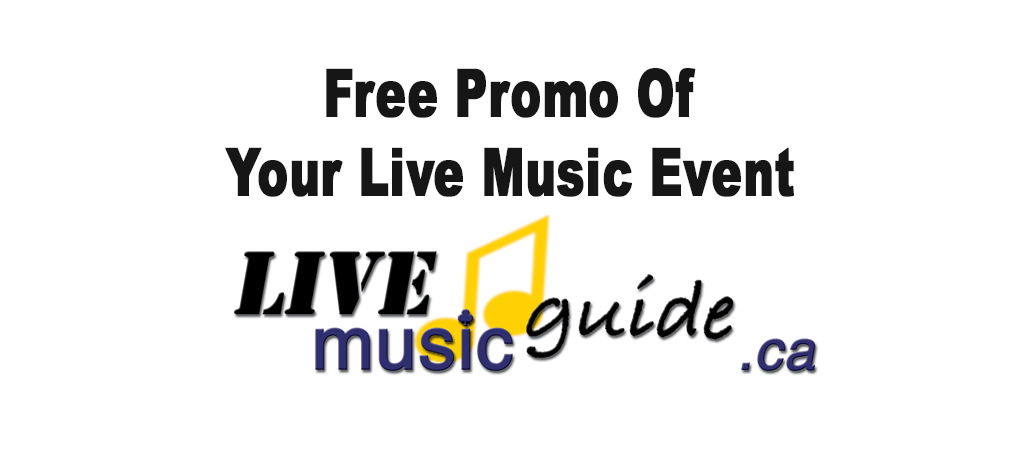 Bloor News Announces a New Feature: live music guide